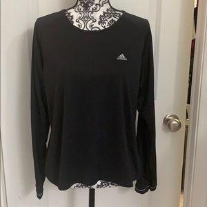 Ladies Adidas ClimaLite long sleeve workout shirt